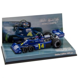 Patrick Depailler Tyrrell Ford P34 Giappone GP 1976 1/43