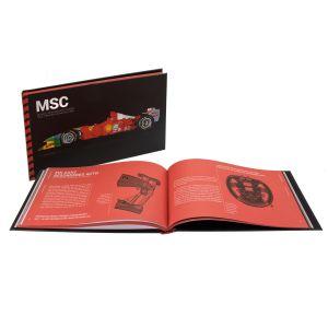 La carriera di MSC Michael Schumacher raccontata attraverso le sue auto da corsa (inglese)