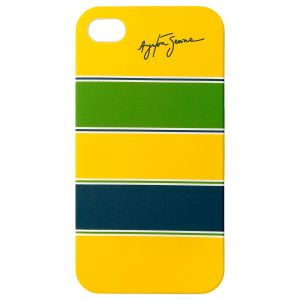 Ayrton Senna Phone Case Helmet iPhone 4/4s