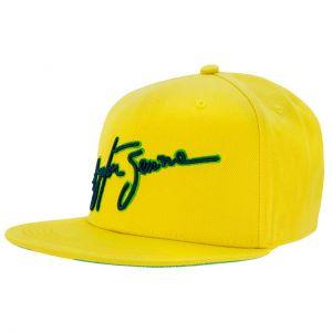 Ayrton Senna Cap Brasil Borde plano