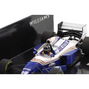 Damon Hill Williams FW16B Winner Belgien GP Formel 1 1994