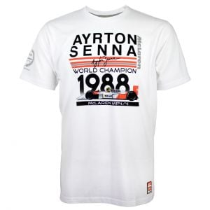 Ayrton Senna camiseta World Champion 1988 McLaren
