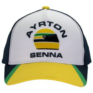 Ayrton Senna Cap Racing Kids