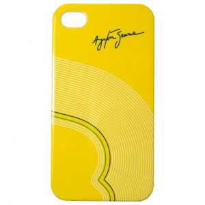 Ayrton Senna Phone Case Track Lines iPhone 4/4s