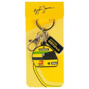 Ayrton Senna Keyring Helmet 1990