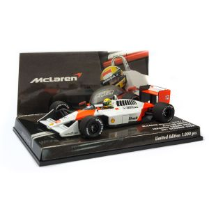 McLaren Honda MP4/4 Ayrton Senna Japan GP 1988 box