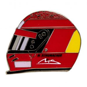Michael Schumacher Pin Casque 2000