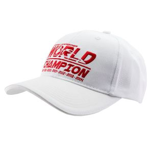 Michael Schumacher Cap World Champion weiß