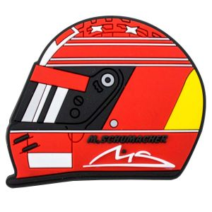 Michael Schumacher Kühlschrankmagnet Helmet 2000