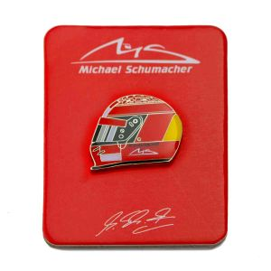 Michael Schumacher Helmet Pin 2000