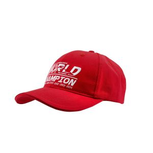 Cap Kids World Champion red