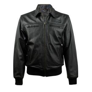 La giacca di pelle firmata