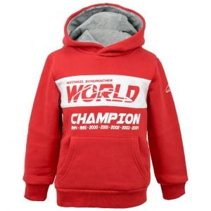 Sudadera Niñ@s World Champion Roja Michael Schumacher