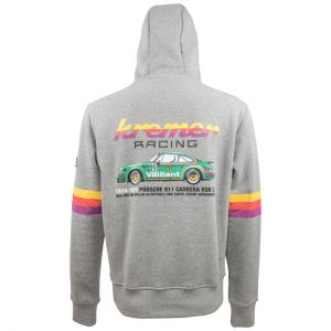 Kremer Racing Sweat à capuche Porsche 911 Carrera No 9 gris
