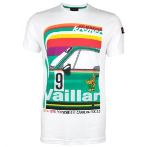 Kremer Racing T-Shirt Porsche 911 Carrera No. 9 blanc