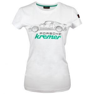 Kremer Racing Damen T-Shirt Porsche 911 Carrera Nr. 9