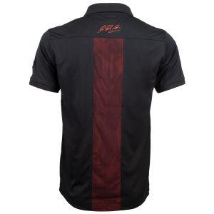 Michael Schumacher Polo-Shirt Fan Sport schwarz