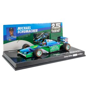 Michael Schumacher Benetton Ford B194 Mick Schumacher Belgian GP 2017