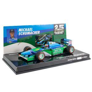 Michael Schumacher Benetton Ford B194 Mick Schumacher Belgian GP 2017