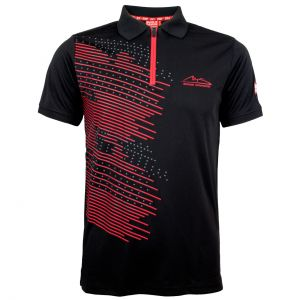 Michael Schumacher Polo-Shirt Fan Sport schwarz
