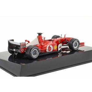 Michael Schumacher Ferrari F2002 #1 campione del mondo di Formula 1 2002 1/43