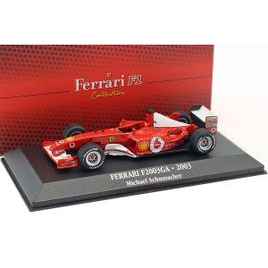 Michael Schumacher Ferrari F2003-GA #1 Campione del mondo Formula 1 2003 1:43