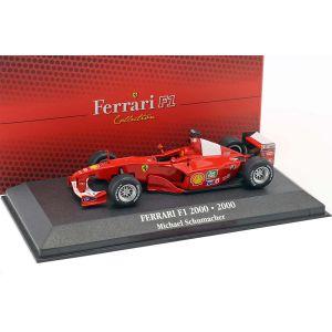 Michael Schumacher Ferrari F1-2000 #3 Campione del mondo Fórmula 1 2000 1:43