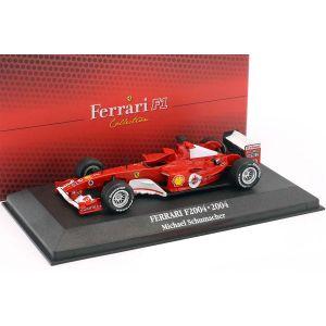 Michael Schumacher Ferrari F2004 #1 Weltmeister F1 2004 1:43
