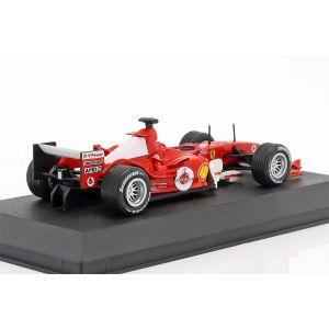 Michael Schumacher Ferrari F2004 #1 Campeón del Mundo F1 2004 1/43