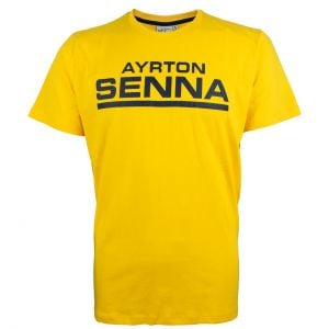 Ayrton Senna Camiseta Racing Signature