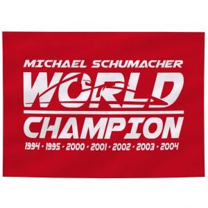 Michael Schumacher Flag Speedline