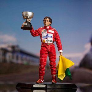 Ayrton Senna Statuetta 1:6 1993 Brasile GP