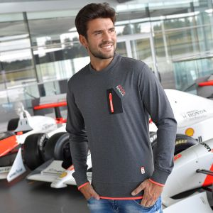 Sweatshirt Senna Three Times World Champion McLaren Model