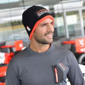 Ayrton Senna Beanie Three Times World Champion model