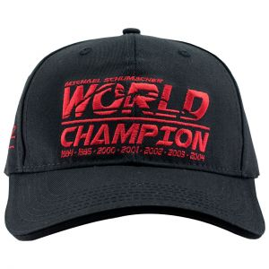 Cap World Champion black
