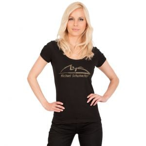 "Michael Schumacher Damen-T-Shirt ""Logo"""