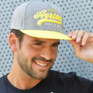 Ayrton Senna Cap Legendary Model square