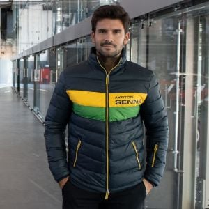 Ayrton Senna Track Jacket Racing