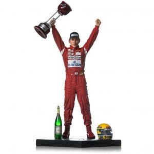 Ayrton Senna Action Figurine 1988 Japan GP Scale 1/10