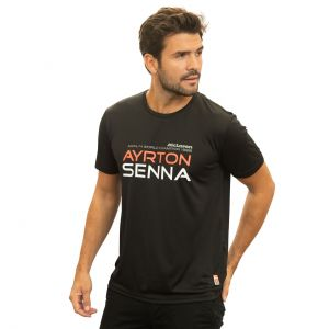 Ayrton Senna T-Shirt McLaren World Champion 1988
