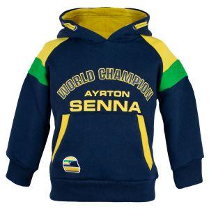 Ayrton Senna Kapuzenpulli Racing Kids