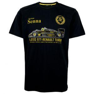 Maglietta Ayrton Senna Prima Vittoria in Portogallo