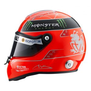 Michael Schumacher Mercedes GP Formel 1 2012 Helm 1:2 Schuberth
