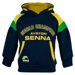 Ayrton Senna Hoody Racing Kids