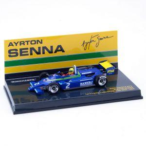 Ayrton Senna Ralt Toyota RT3 1ST F3 Win Thruxton 13 November 1982 1/43