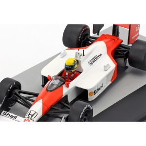 McLaren MP4/4 #12 vencedor do San Marino GP Formula 1 1988 1/43