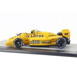Ayrton Senna Lotus 99T #12 Ganador Mónaco GP Formel 1 1987 1/43