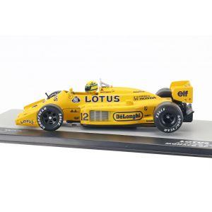 Ayrton Senna Lotus 99T #12 Vainqueur du GP Monaco Formel 1 1987 1/43