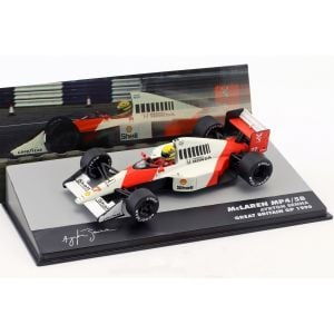 Ayrton Senna McLaren MP4/5B #27 World Champion Great Britain GP Formula 1 1990 1/43