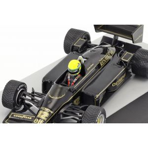 Ayrton Senna Lotus 97T #12 Gewinner Portugal GP Formel 1 1985 1:43